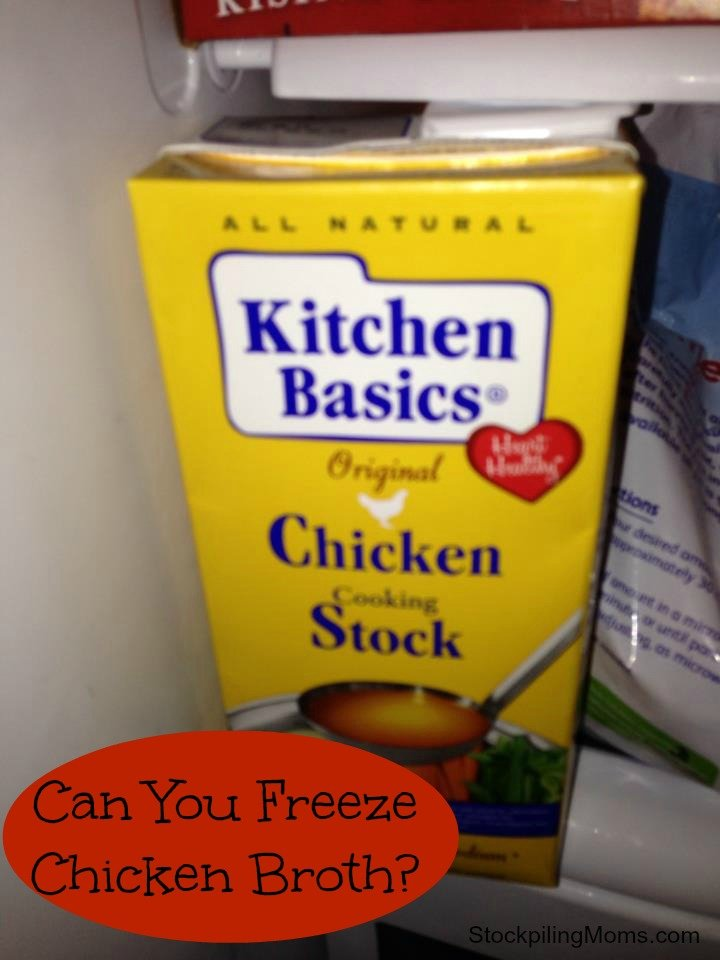 Can You Freeze Chicken Broth? Yes, you can! Check out this tip and way to save money!