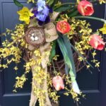 easy spring wreath