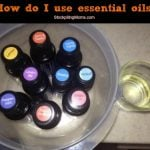 how do I use essential oils