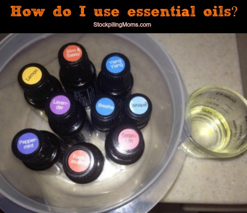 How Do I Use doTERRA Essential Oils?