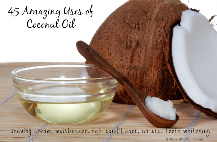 45 Amazing Uses For Coconut Oil