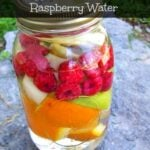 Apple, Orange and Raspberry Water