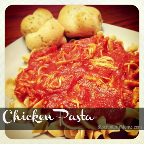 Chicken Pasta is a nice twist on the traditional beef dish.