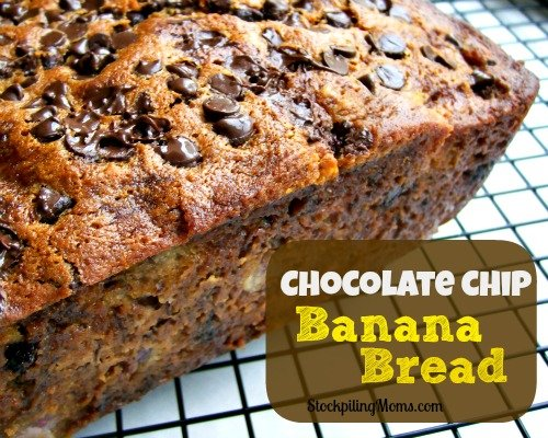 The most delicious Chocolate Chip Banana Bread Recipe ever!