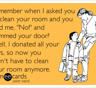 Clean Your Room Humor