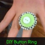 DIY Button Ring