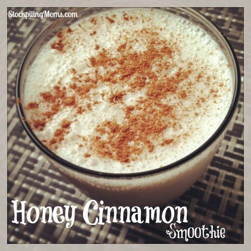 This Honey Cinnamon Smoothie is gluten free and paleo.  A great way to start the day!