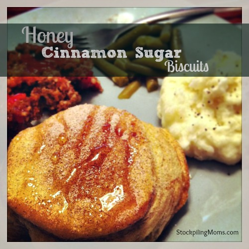Honey Cinnamon Sugar Biscuits