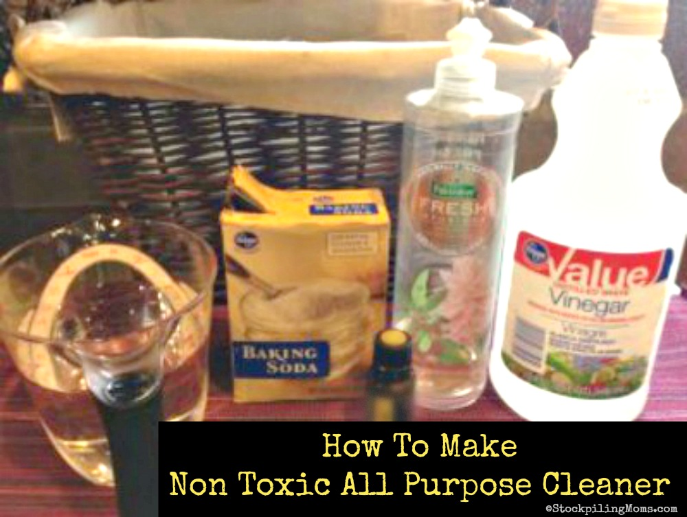 How To Make Non Toxic All Purpose Cleaner