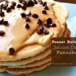 Peanut Butter Chocolate Chip Pancakes1