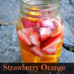 Strawberry Orange Water