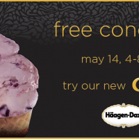 Häagen-Dazs® FREE Cone Day May 14th