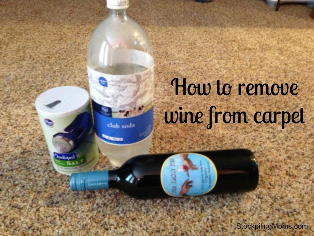 howtocleanwineoutofcarpet