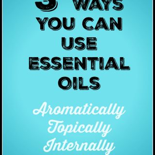 3 Ways You Can Use Essential Oils