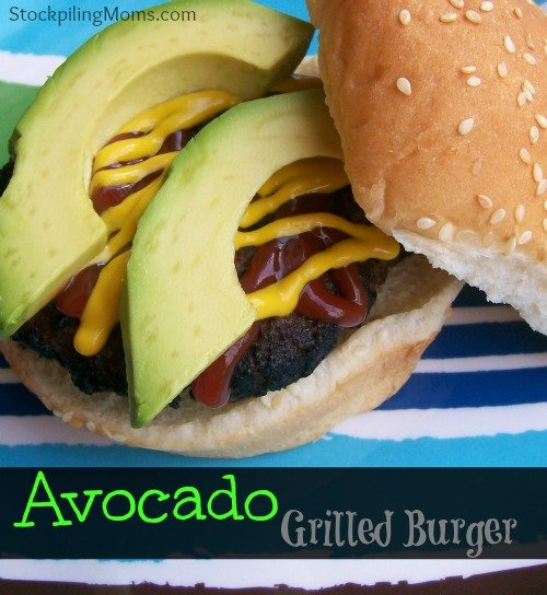 Avocado Grilled Burger is simple to prepare and packed full of healthy fats! Great for carb cycling.