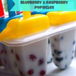 Blueberry & Raspberry Popsicles