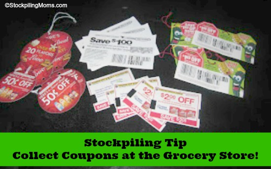 Collect Coupons at the Grocery Store