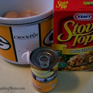 Crockpot Chicken and Stuffing
