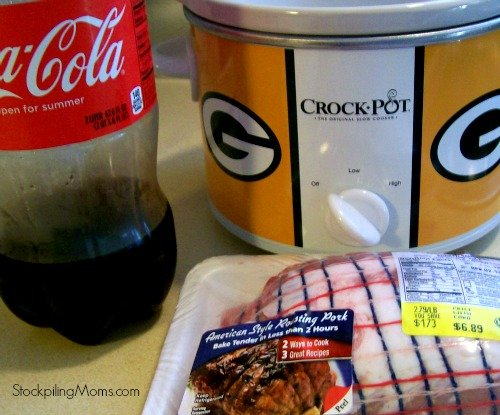 Crockpot Coca-Cola Pork Roast has only 2 ingredients in this moist roast!