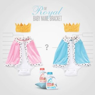 #DreftCelebrates with the Royal Baby Name Bracket