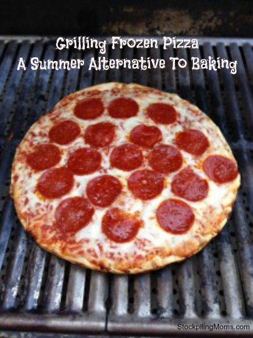 Grilling Frozen Pizza A Summer Alternative To Baking