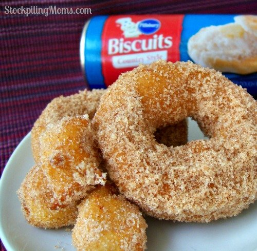 Homemade Doughnuts are easy to make and taste delicious!