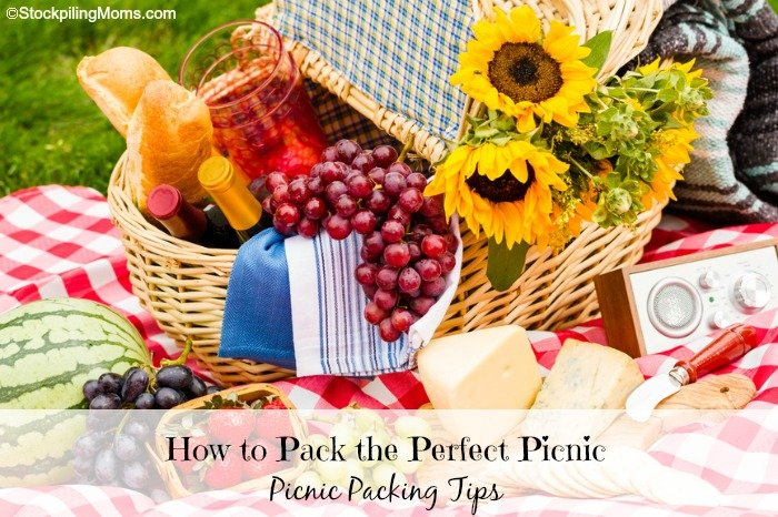 How to pack the perfect picnic. These tips will help you when packing a picnic for your loved ones.