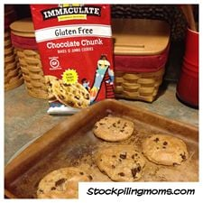 immaculate gluten free cookies