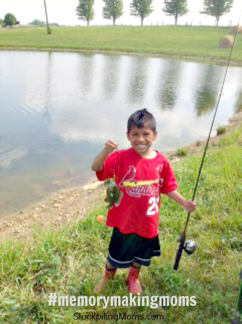 Fishing Fun! A great way to create memories with your kids and lots of fun! #summer #kids #fishing