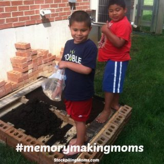 Pumpkin Planting – Fun for the Family
