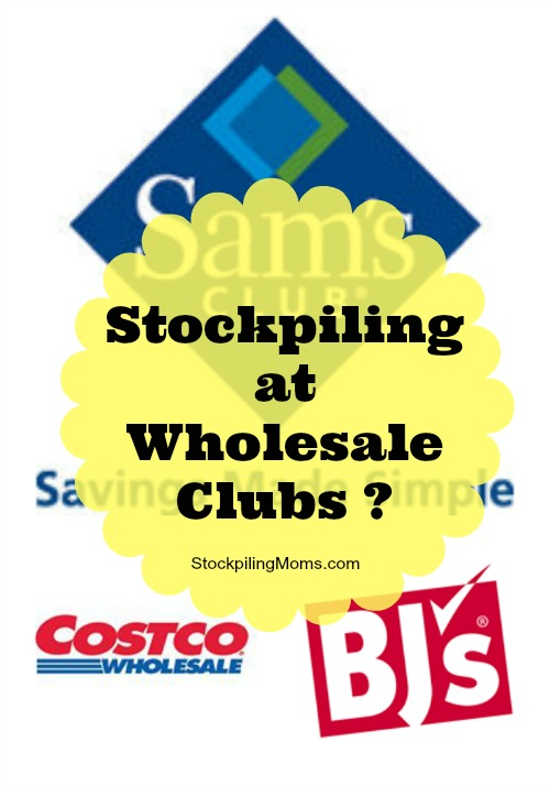 stockpiling at wholesale clubs