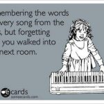 Songs from the 80's eCard