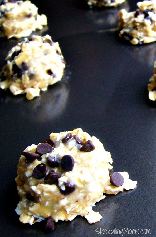 Banana Oatmeal Cookies have only 2 ingredients in these healthy cookies (plus chocolate chips if you want)! They are SO good and SO good for you!