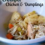 CCrockpot Chicken & Dumplings