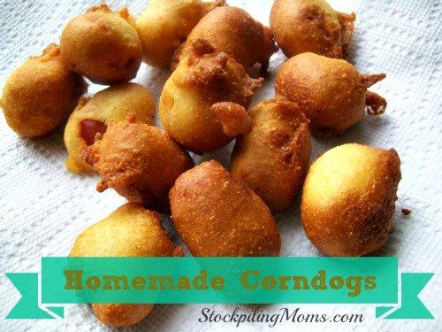 You can't go wrong with these delicious homemade Corndogs!