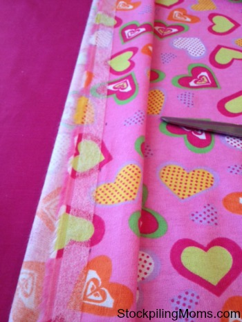 No-Sew Pillow Case 1