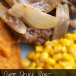 Oven Chuck Roast with Onions