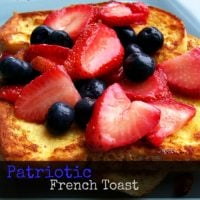 Patriotic French Toast