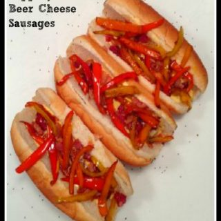 Peppery Pancetta Beer Cheese Sausage