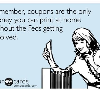 Coupons are Money Humor