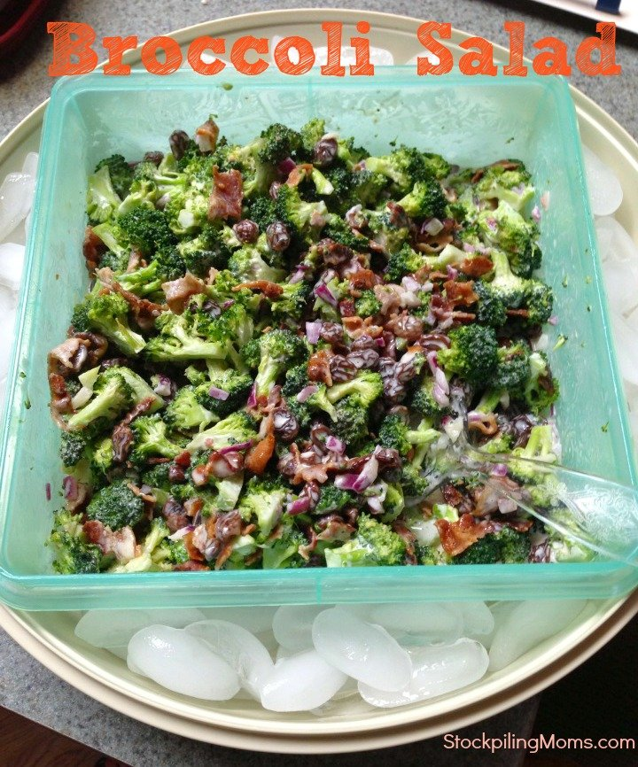 Broccoli Salad is the perfect dish for a summer picnic or party!