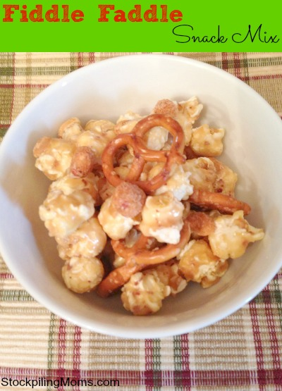 Fiddle Faddle Snack Mix is an easy after school snack