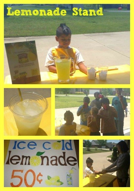 Love this easy DIY Lemonade Stand #summer #kids #fun