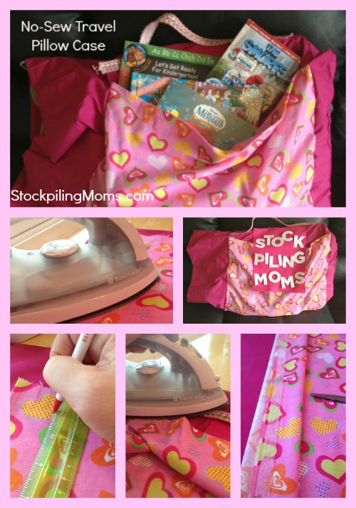 No sewing machine necessary and step by step directions on this easy to make project!