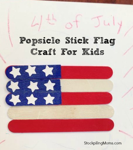 popsicle stick flag final