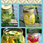 10 Healthy Water Recipes Collage