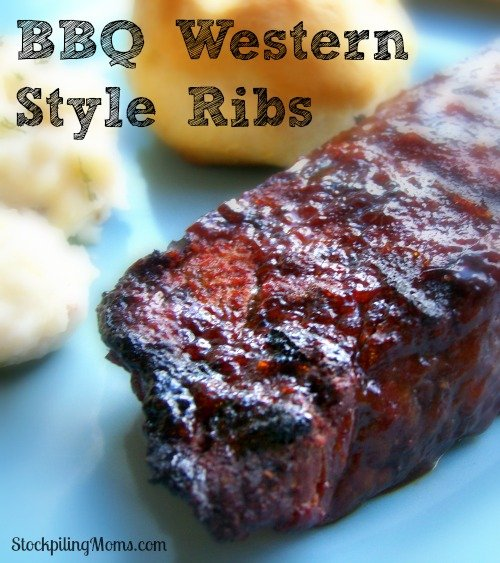 BBQ Western Style Ribs are easy to prepare and taste AMAZING!