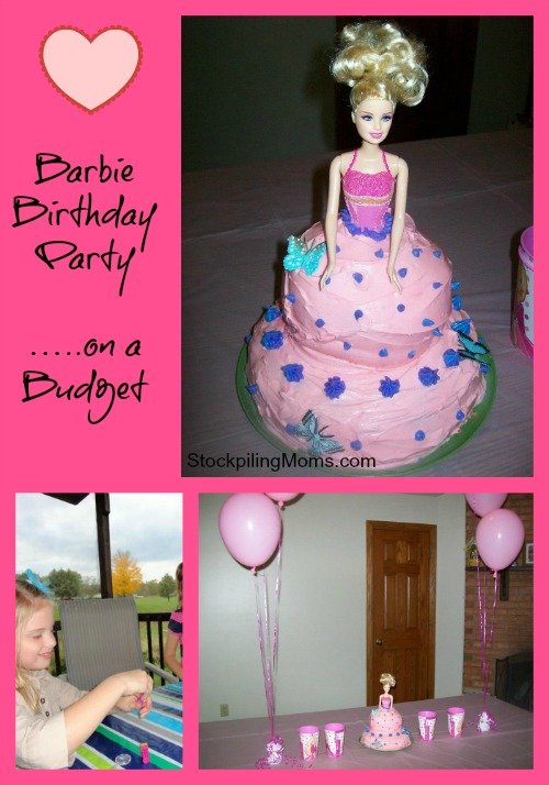 Barbie Birthday Party On A Budget