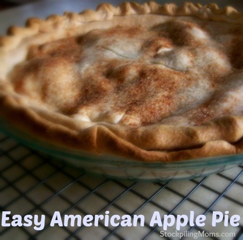 Easy American Apple Pie