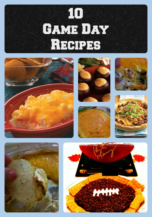10 AMAZING Game Day Recipes